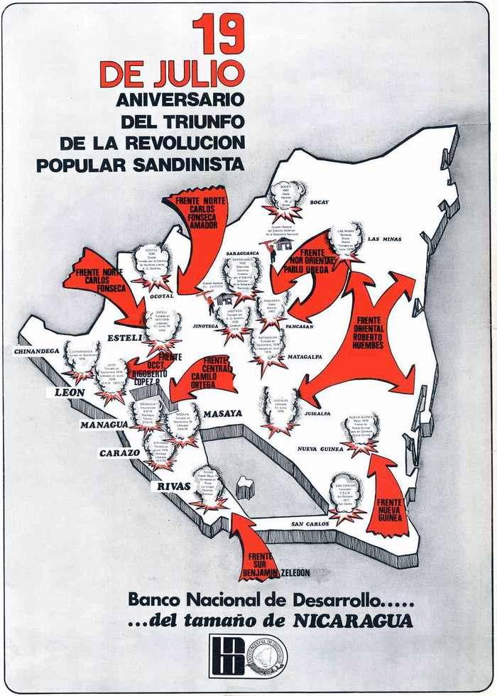 19 июля (1979 года) годовщина со дня победы народной сандинистской революции