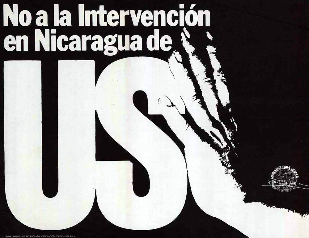 Нет интервенции США в Никарагуа