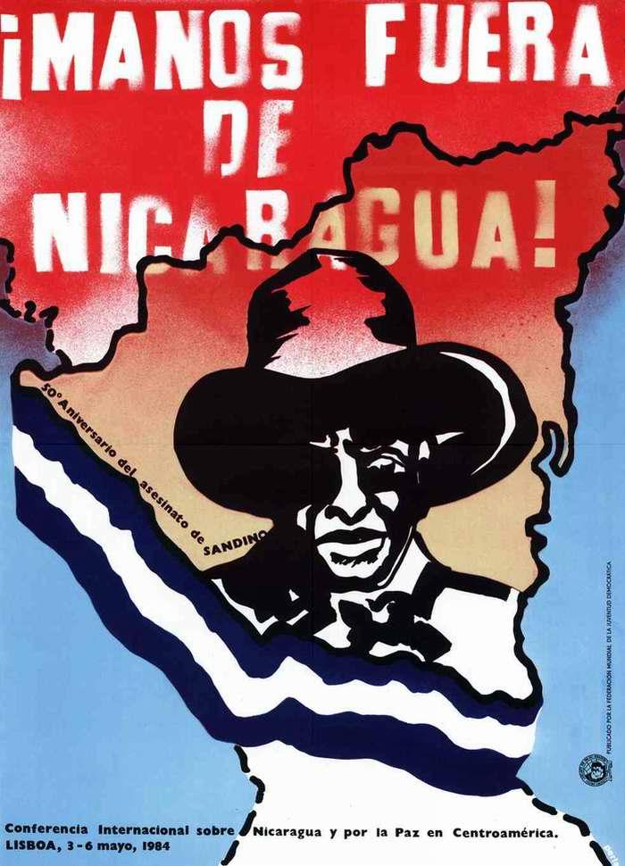 Руки прочь от Никарагуа (50 лет со дня гибели Сандино)