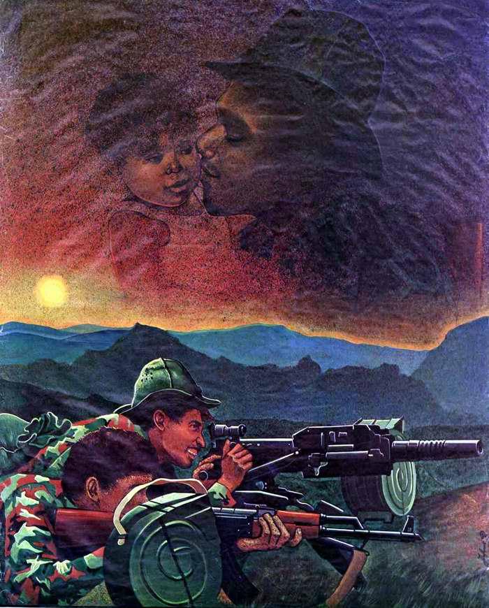 На страже завоеваний сандинистской революции