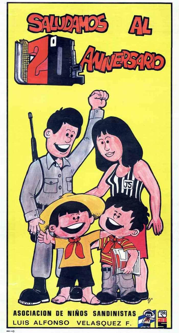 Салют 2-й годовщине со дня победы сандинистской революции