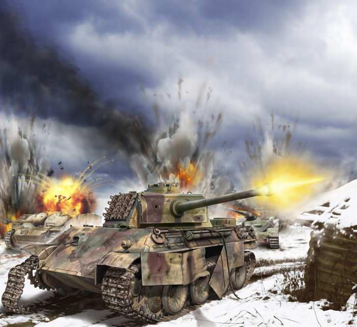 Разгром танковой дивизии СС (Валерий Петелин)