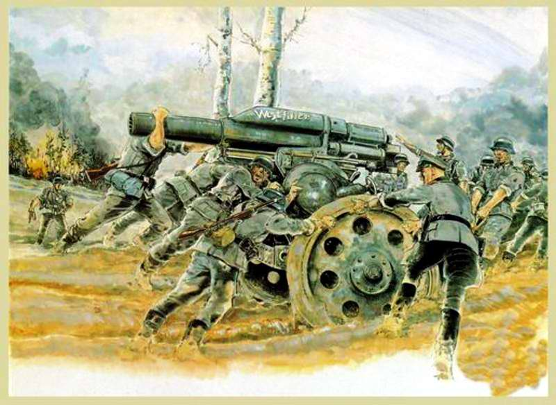 Артиллеристы - Guy Mouminoux (Sajer)