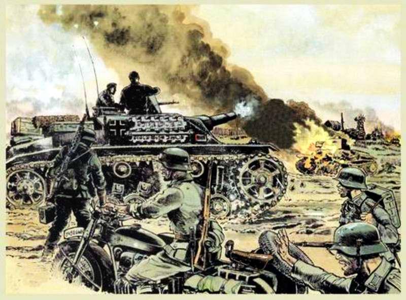 Моторизированная пехота и танки - Guy Mouminoux (Sajer)