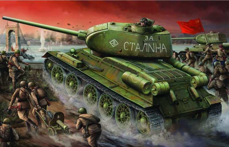 Советские войска на подступах к Берлину (Vincent Wai)