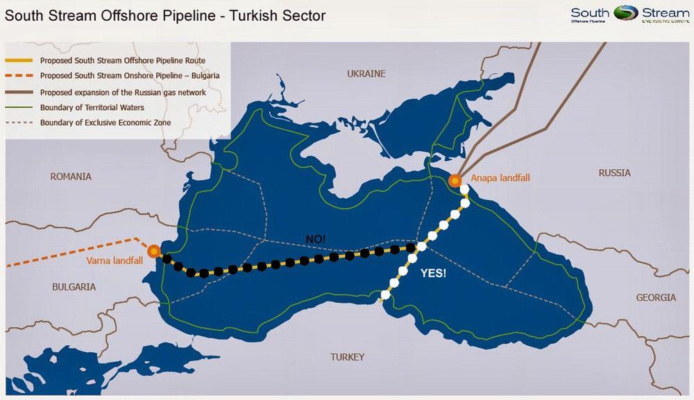 Про Южный поток через берег турецкий: о плюсах и минусах нового газового проекта<