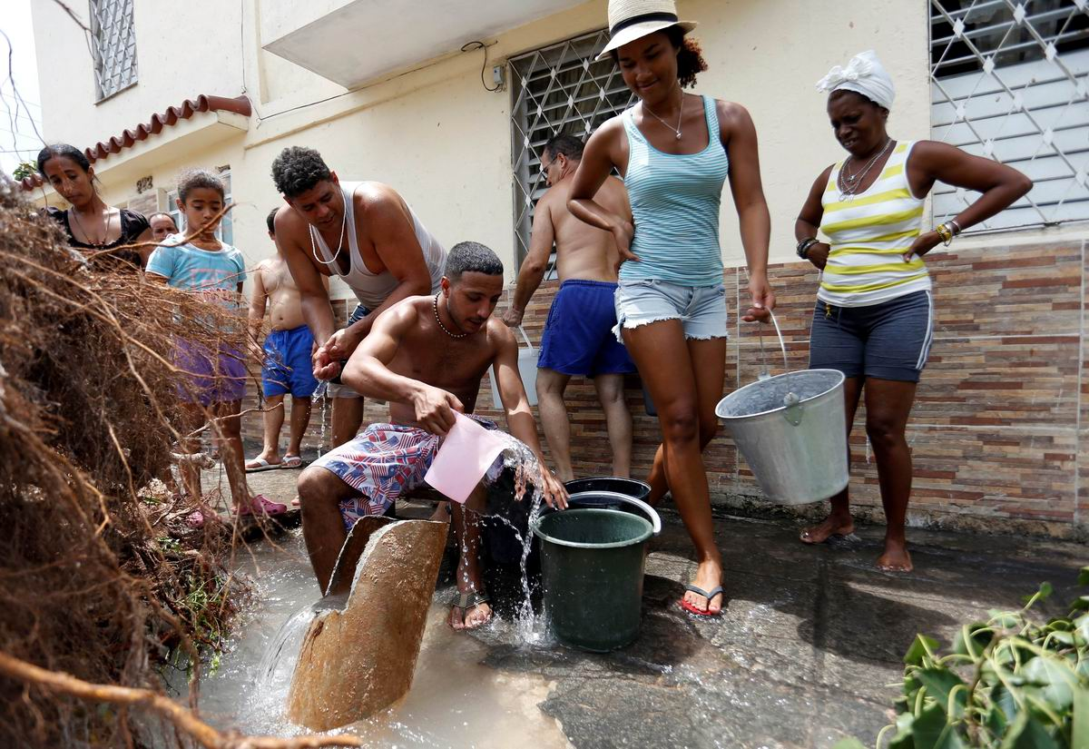 Шла девица за водой: Зарисовки жизни кубинской глубинки
