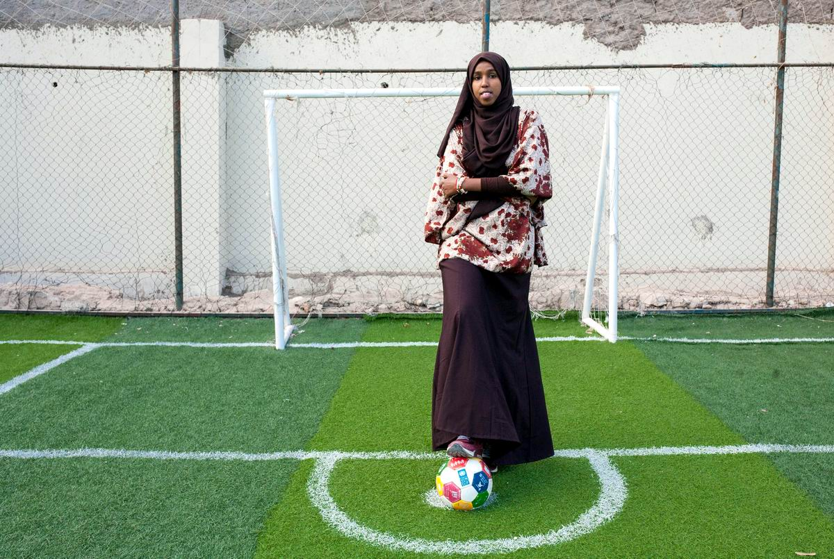Сыграть со мною не желаешь?!: Сомалийская футболистка