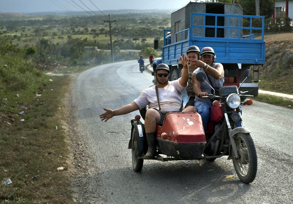 Во-о-от такая веселуха: По Кубе по проселочным дорогам