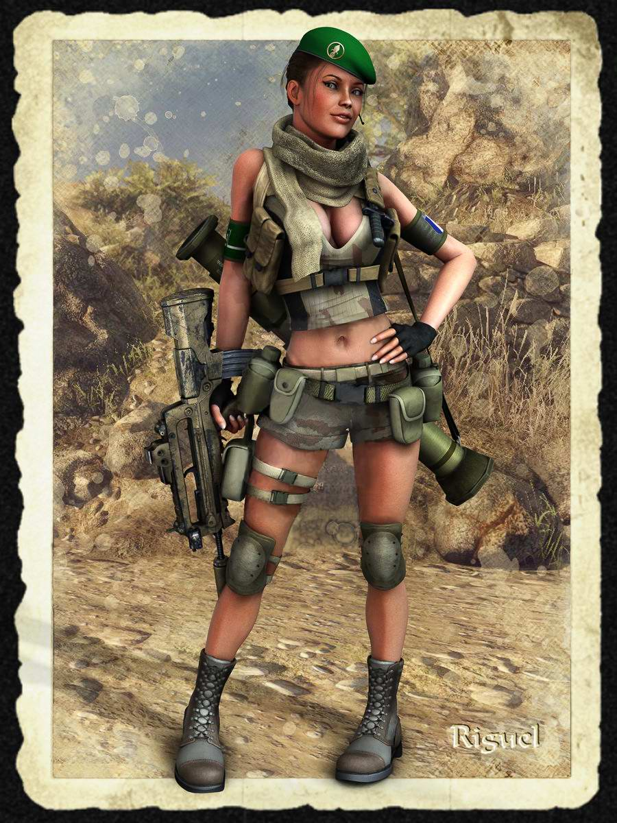Девушка из Французского Легиона (Foreign legion) - Riguel