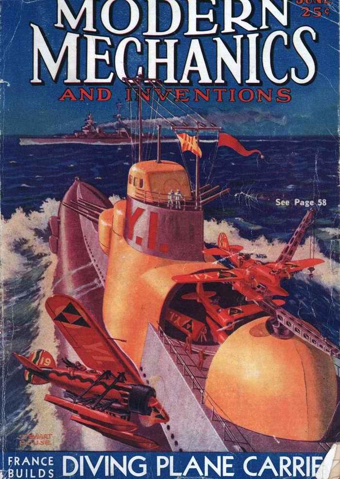 Авианосная подводная лодка
