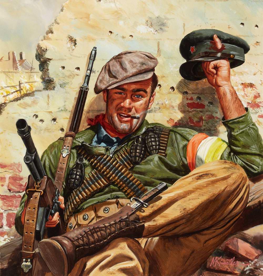 Рисунок художника Mort Kunstler (1)