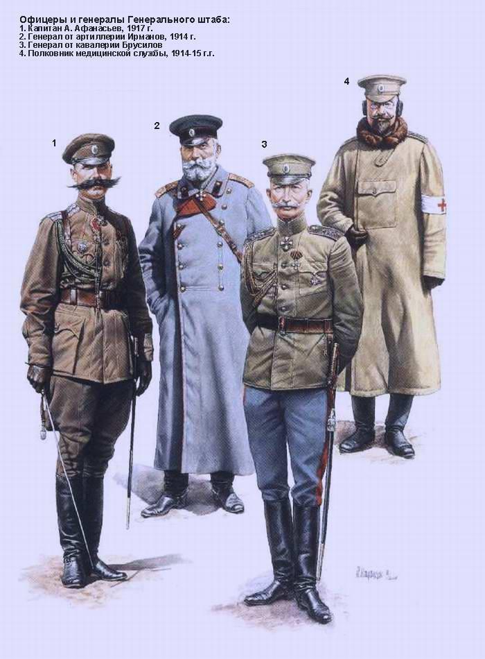 Офицеры и генералы Генерального штаба (Андрей Каращук)