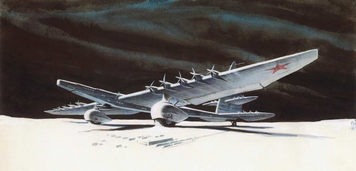 Сверхгигантский советский самолет 30-х годов
