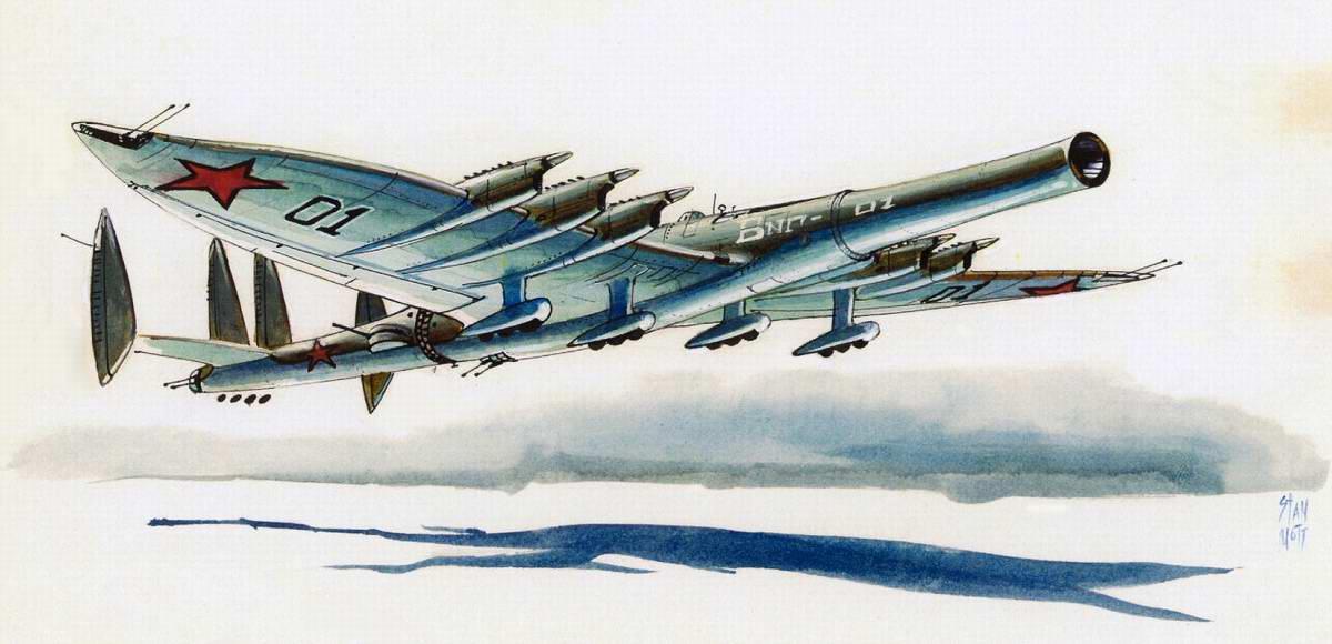 Гибрид самолета и огромной крупнокалиберной пушки, способной стрелять с воздуха по наземным целям