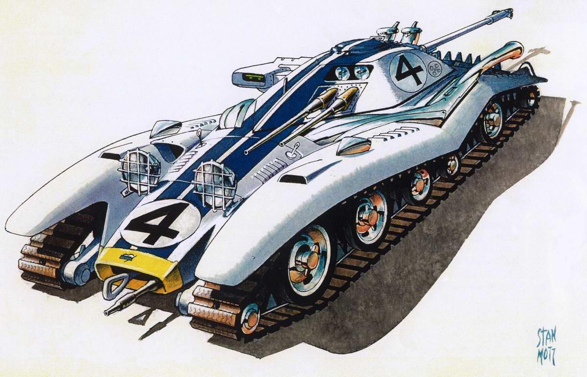 LeMans Sportank - спортивный танк, победитель гонок во французском Ле-Мане