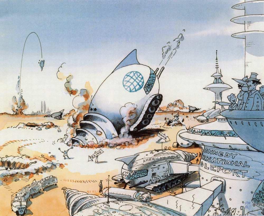 Забавы 21 века - Прыжки на землеройных машинах