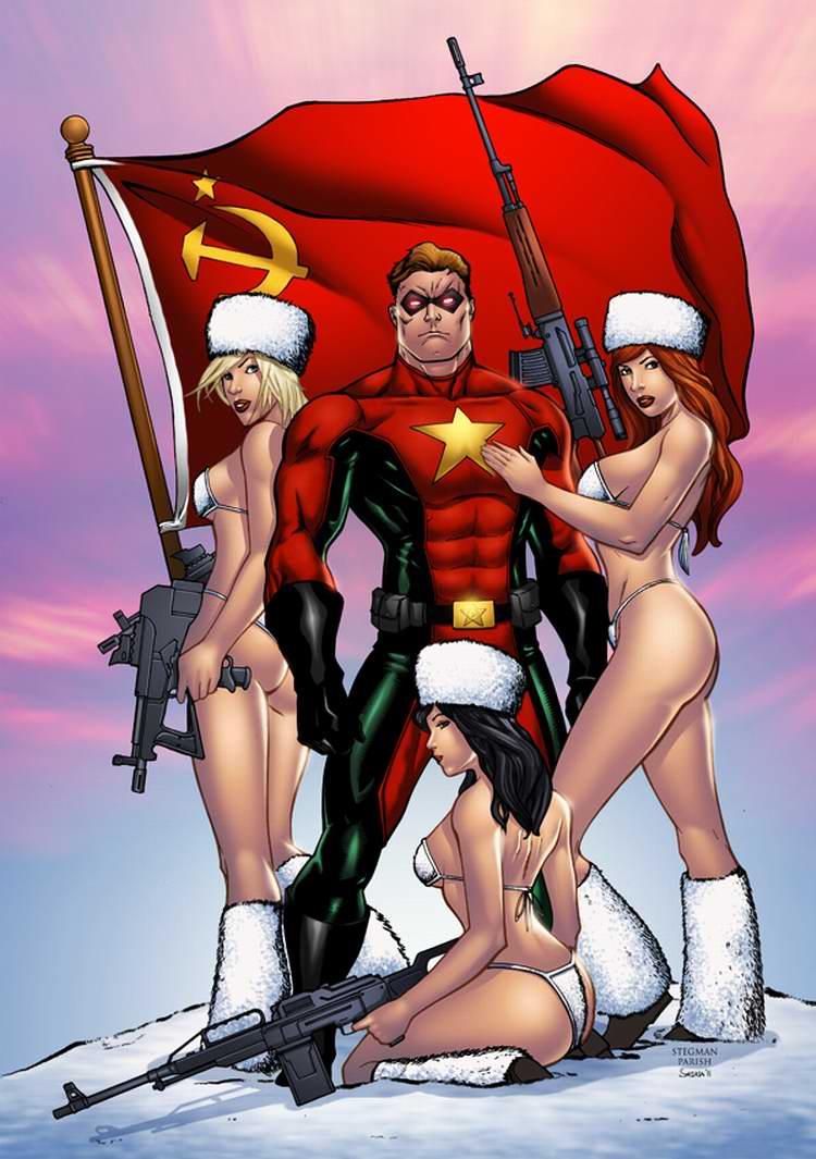 Команда героев под советским флагом (Seane)