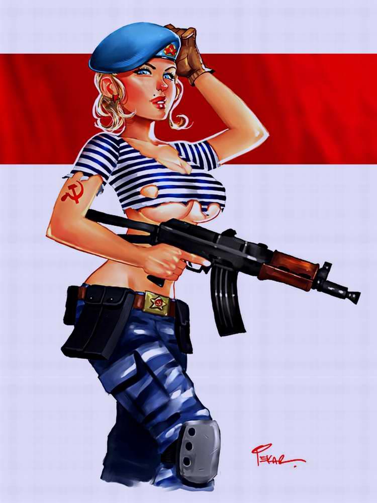Девушка из спецназа (jFury)