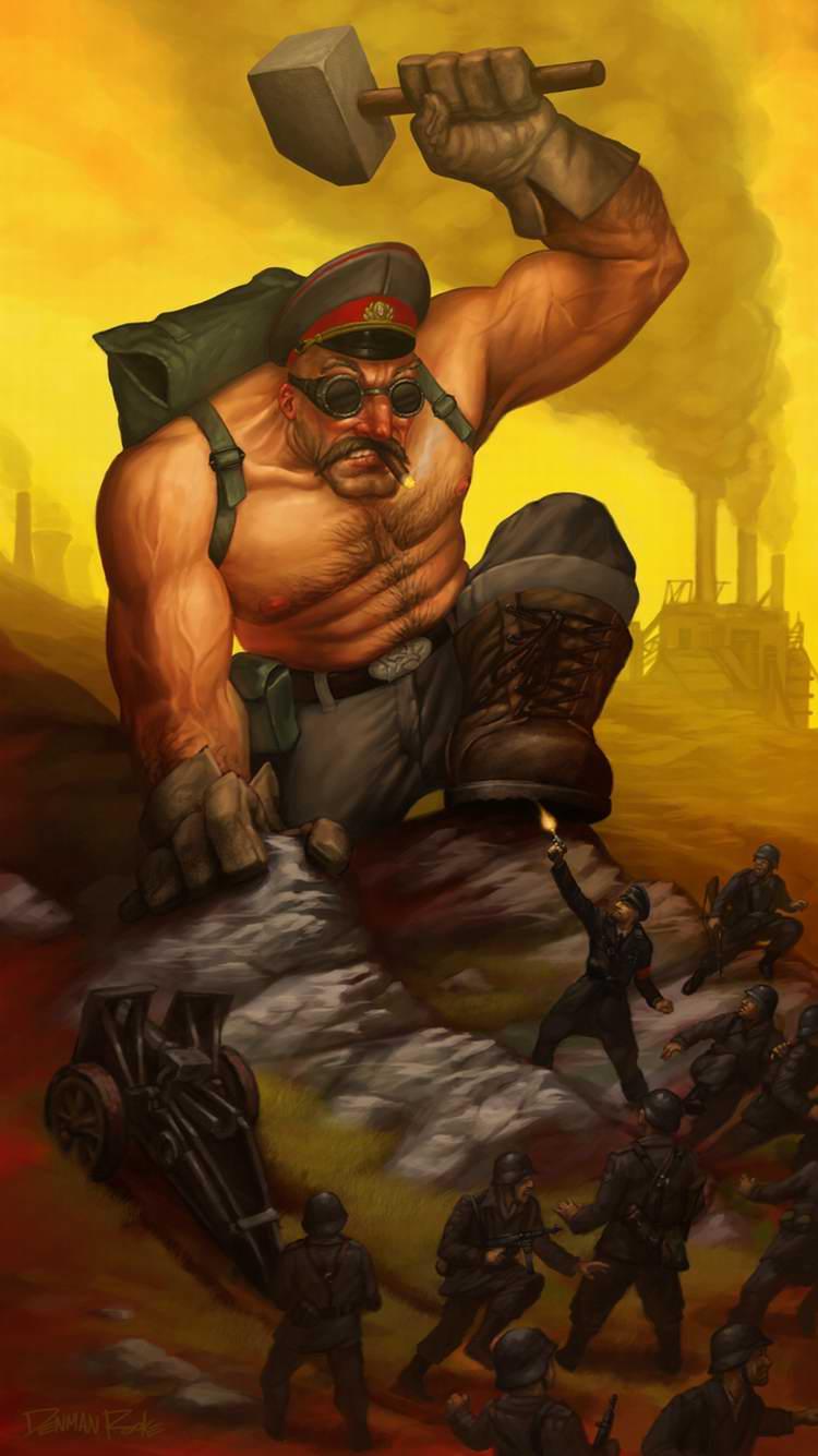 Советский индустриальный гигант (Denman Rooke)