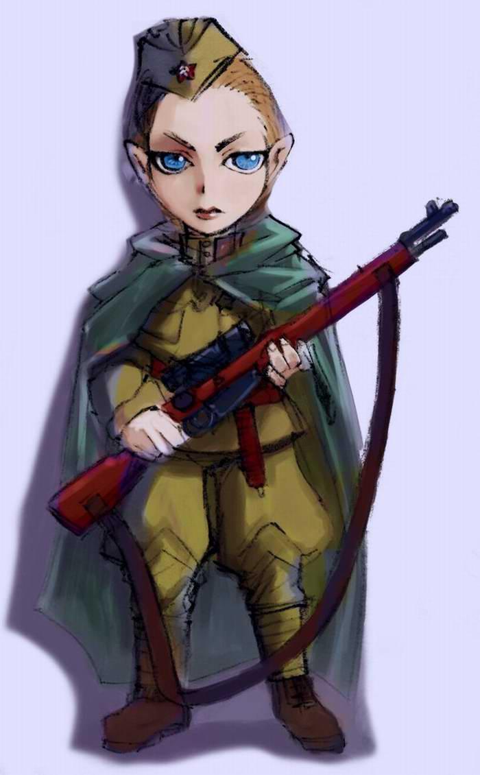 Снайпер Зинаида (Lazyseal)