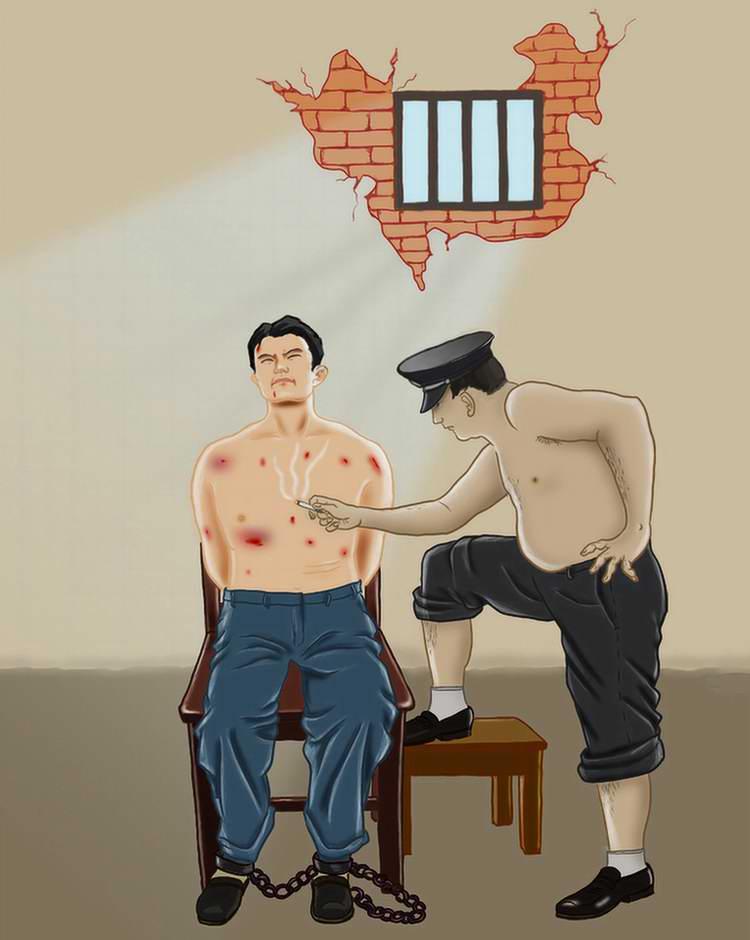 Пытка прижиганием тела