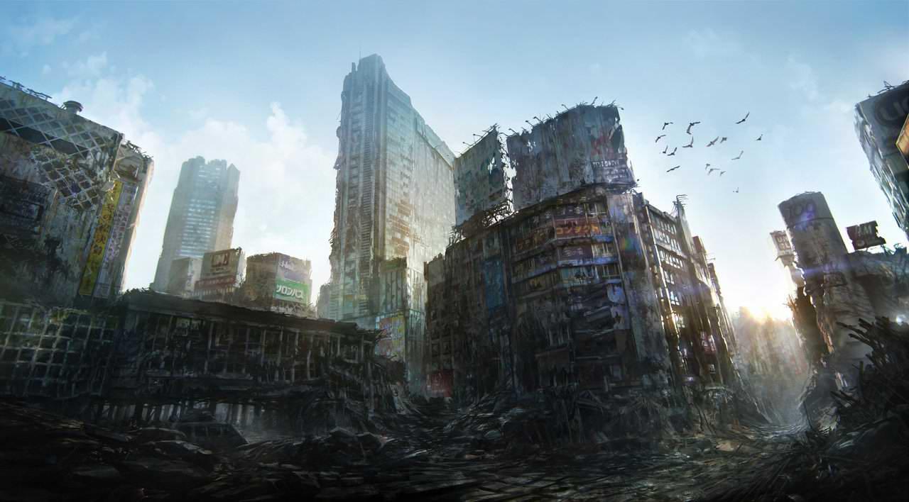 Руины крупнейших городов мира после