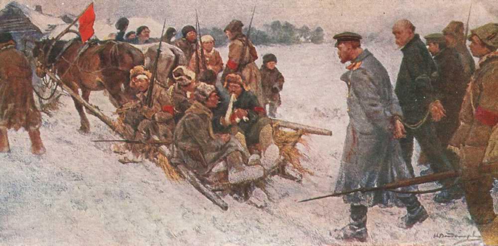 Захват белогвардейских шпионов - Иван Владимиров