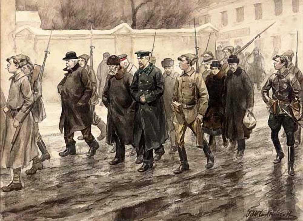 Конвоирование заключенных - Иван Владимиров