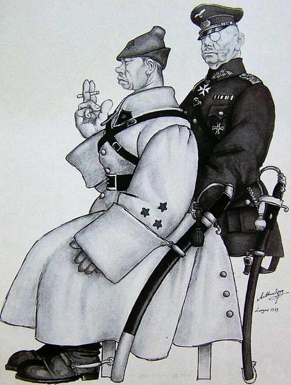 Служили два товарища (Arthur Szyk)