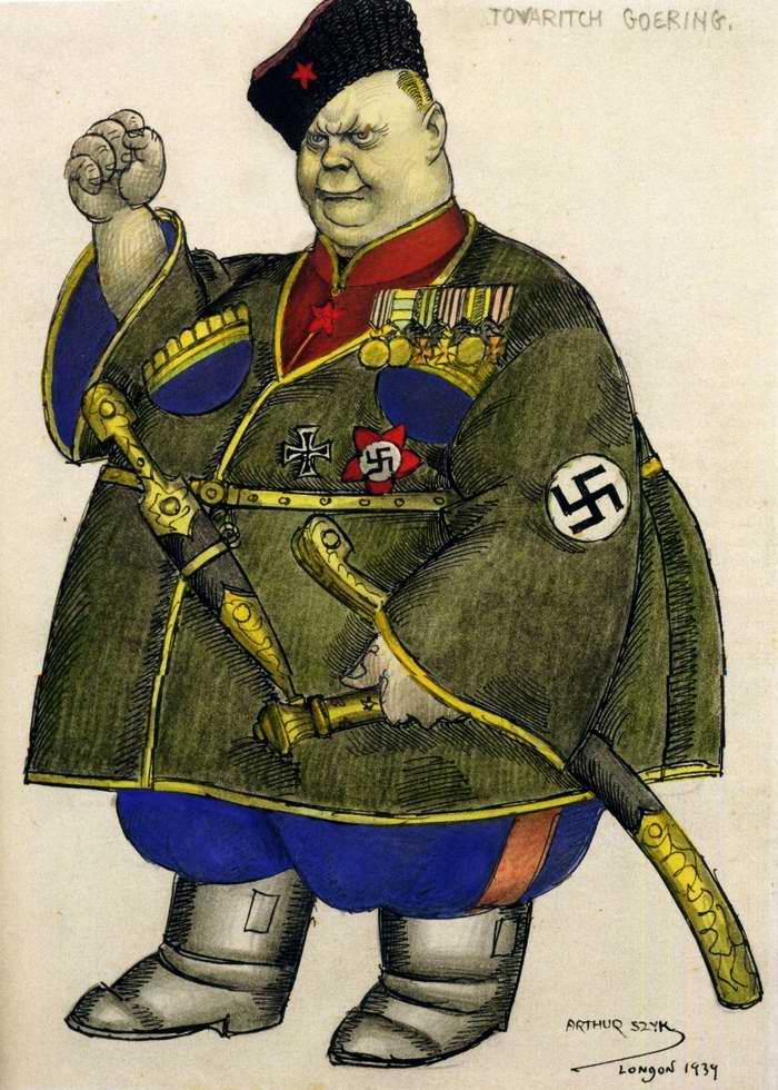 Товарищ Геринг (Arthur Szyk)