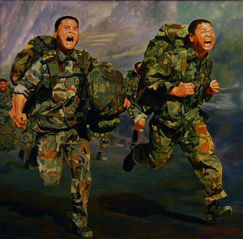 На марш-броске (Shuo Yi Fung)