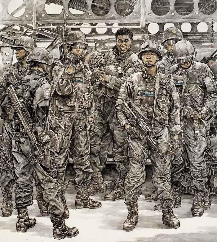 Группа спецназа Снежные леопарды (Miao)