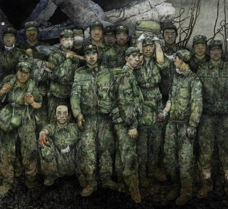 Наша несгибаемая армия (Lu Hongpei)