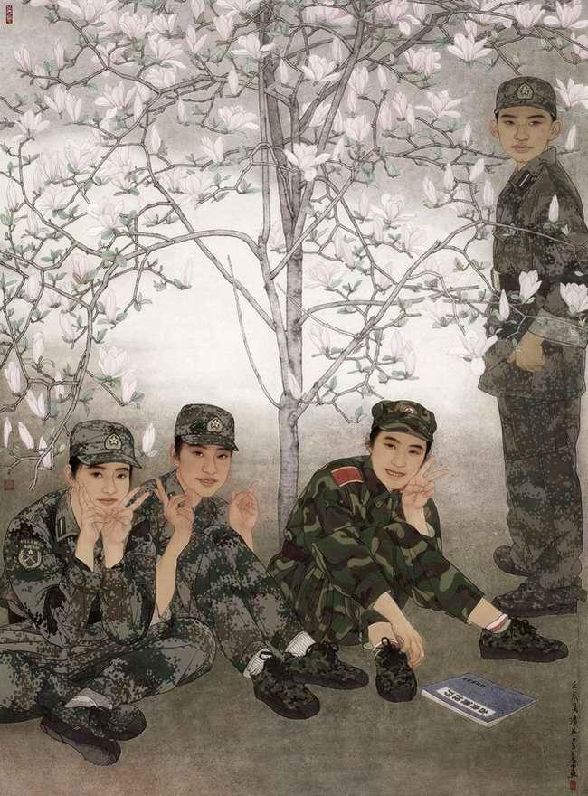 Сезон цветения (Lu Quanyi)