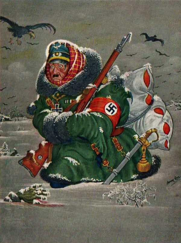 Возвращение несостоявшегося завоевателя (Arthur Szyk)