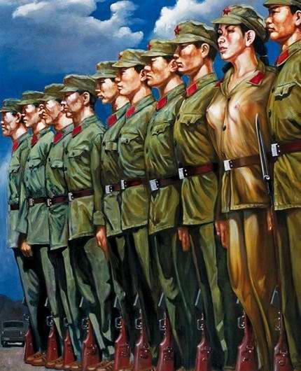 Армия Китая и женский гламур - 02
