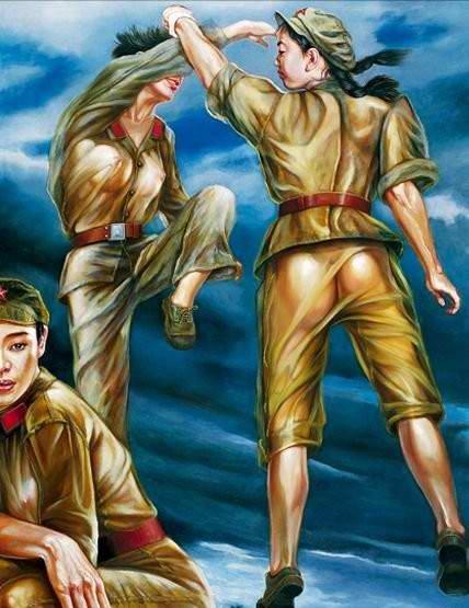 Армия Китая и женский гламур - 03