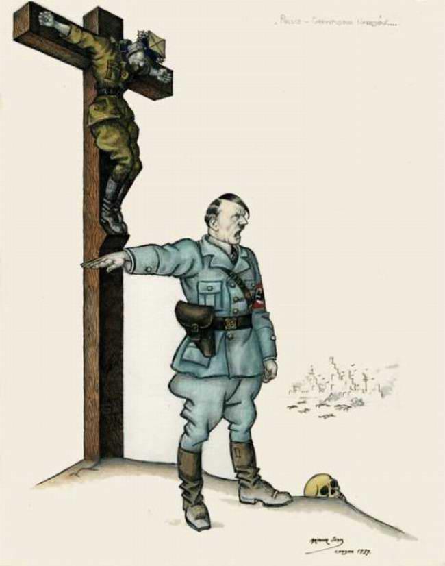 Крест польской нации (Arthur Szyk)