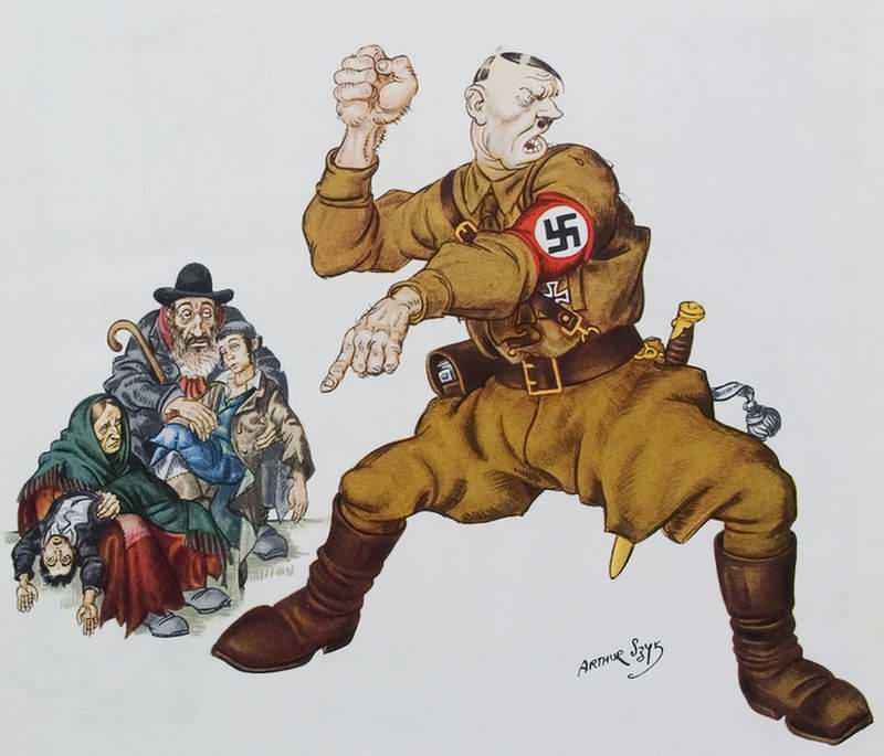 Евреи и гитлеровский нацизм - Arthur Szyk