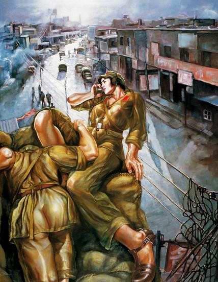 Армия Китая и женский гламур - 08
