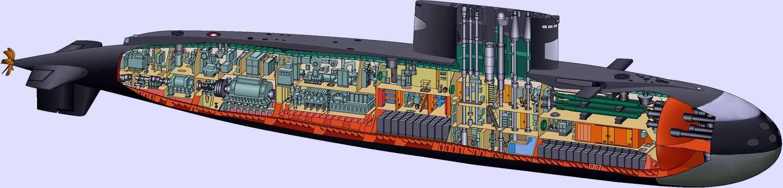 какие аккумуляторы стоят получи подводных лодках