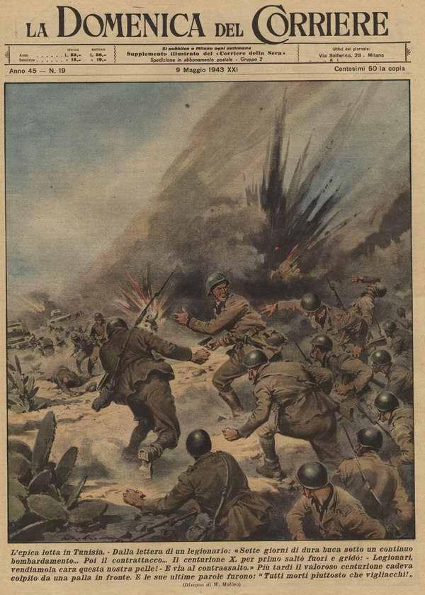 Эпическое сражение в Тунисе. Из письма итальянского легионера - Walter Molino