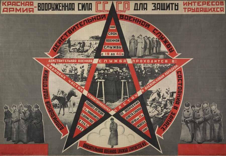 Красная Армия - вооруженная сила СССР