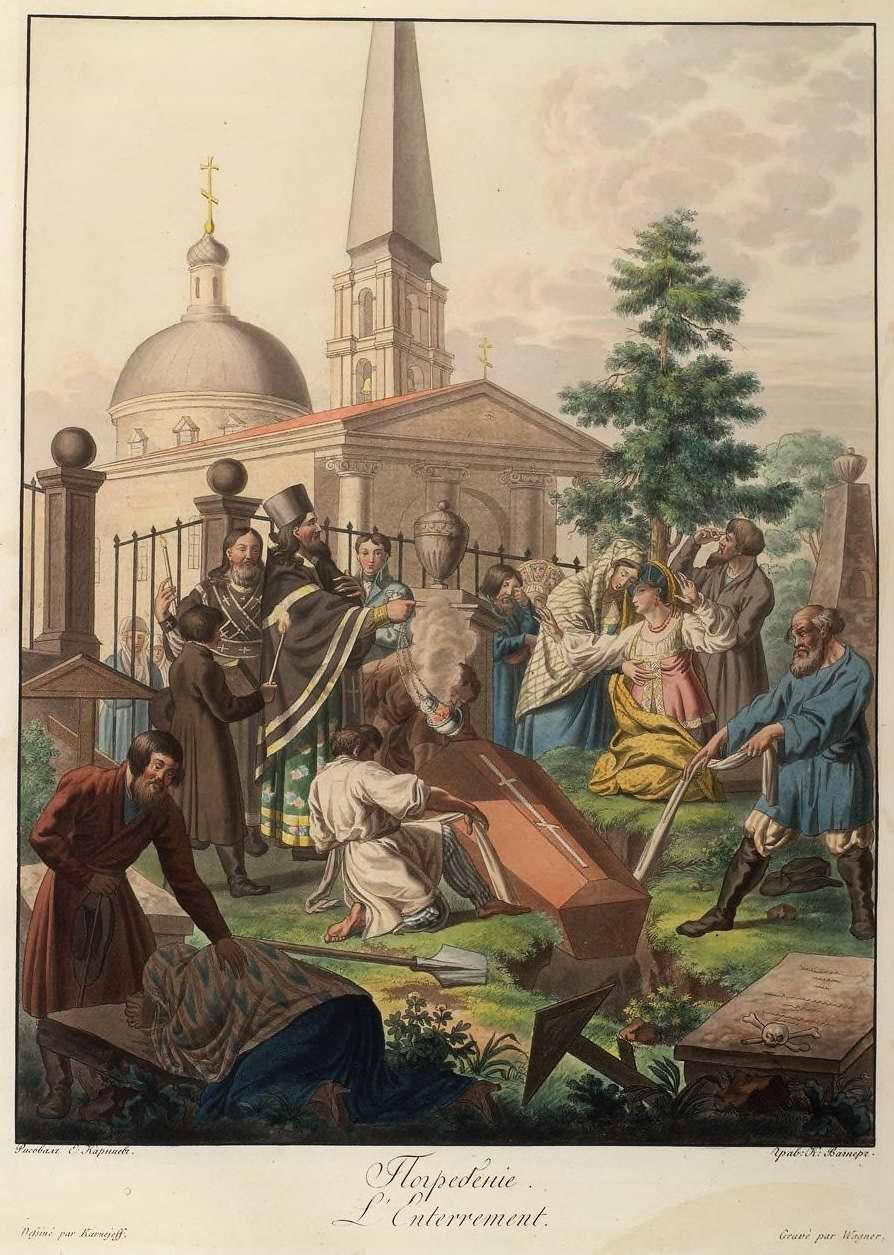 Погребение (1800)