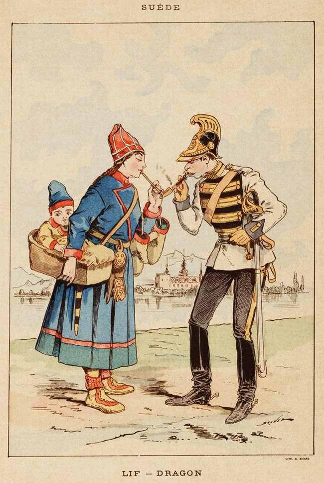 Швеция - Драгун (1850)