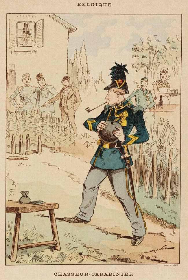 Бельгия - Егерь-стрелок (1850)