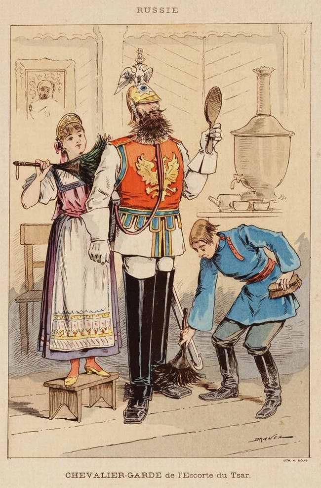Россия - Кавалергард (конный гвардеец полка почетной охраны императора) (1850)