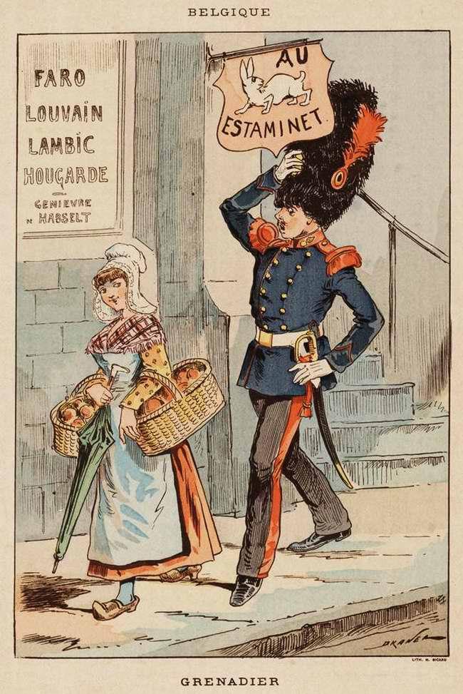 Бельгия - Гренадер (1850)