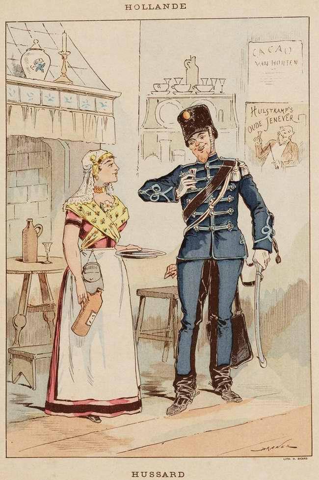 Нидерланды - Гусар (1850)